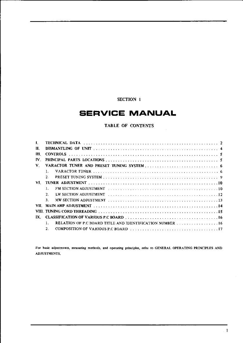 Akai AA 1010 AA 1010 L Service Manual