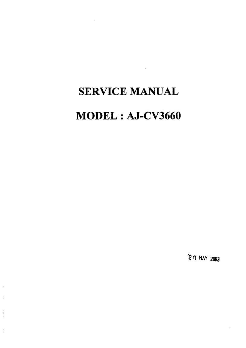 Akai AJC V 3660 Service Manual