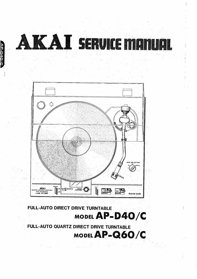 Akai AP Q60 C Service Manual