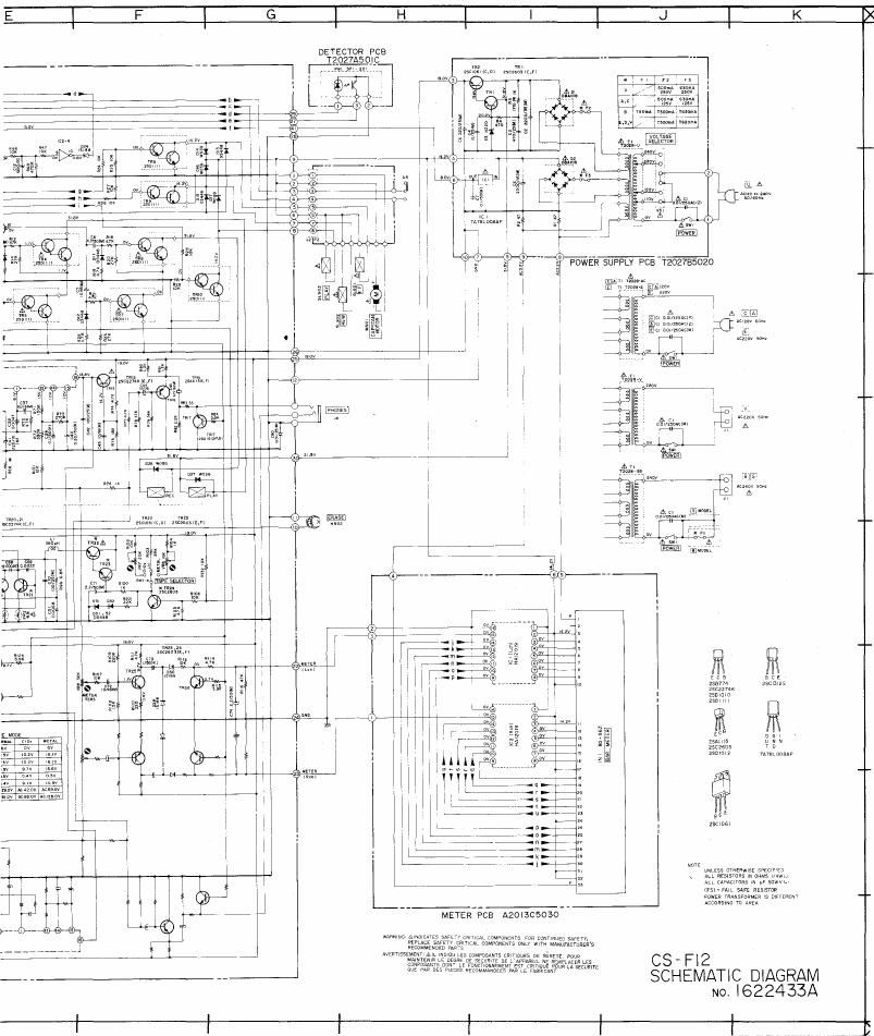 Akai CSF 12 Schematic