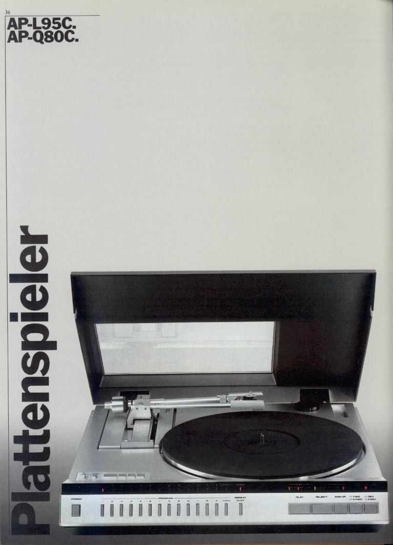 Akai Catalogue Turntable