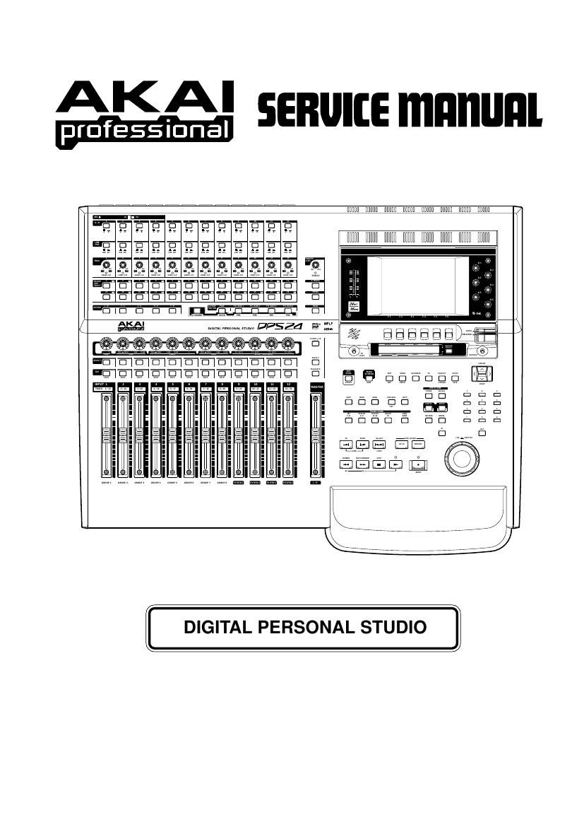 Akai DPS 24 Service Manual