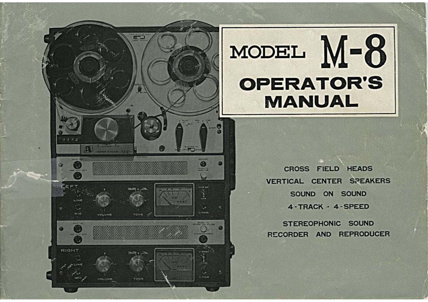 Akai M 8 Owners Manual