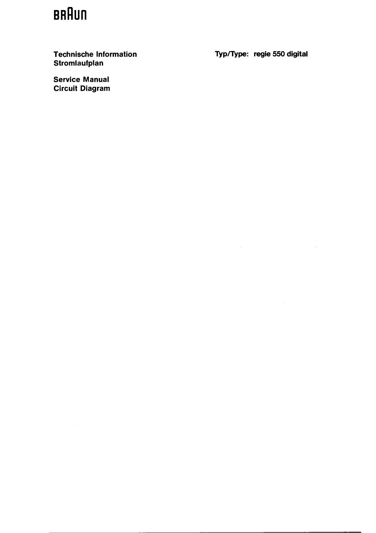 B Braun Manual 2000 Hyundai 15l Fuse Box Diagram Array Regie 550 Service Rh Audioservicemanuals