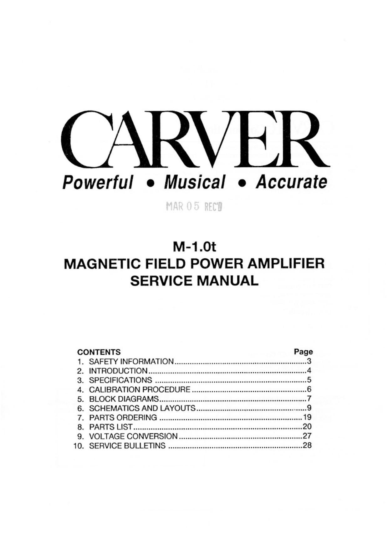 carver m1 0t service manual rh audioservicemanuals com career service manual pasco county carver service manual dtl-200-mkii