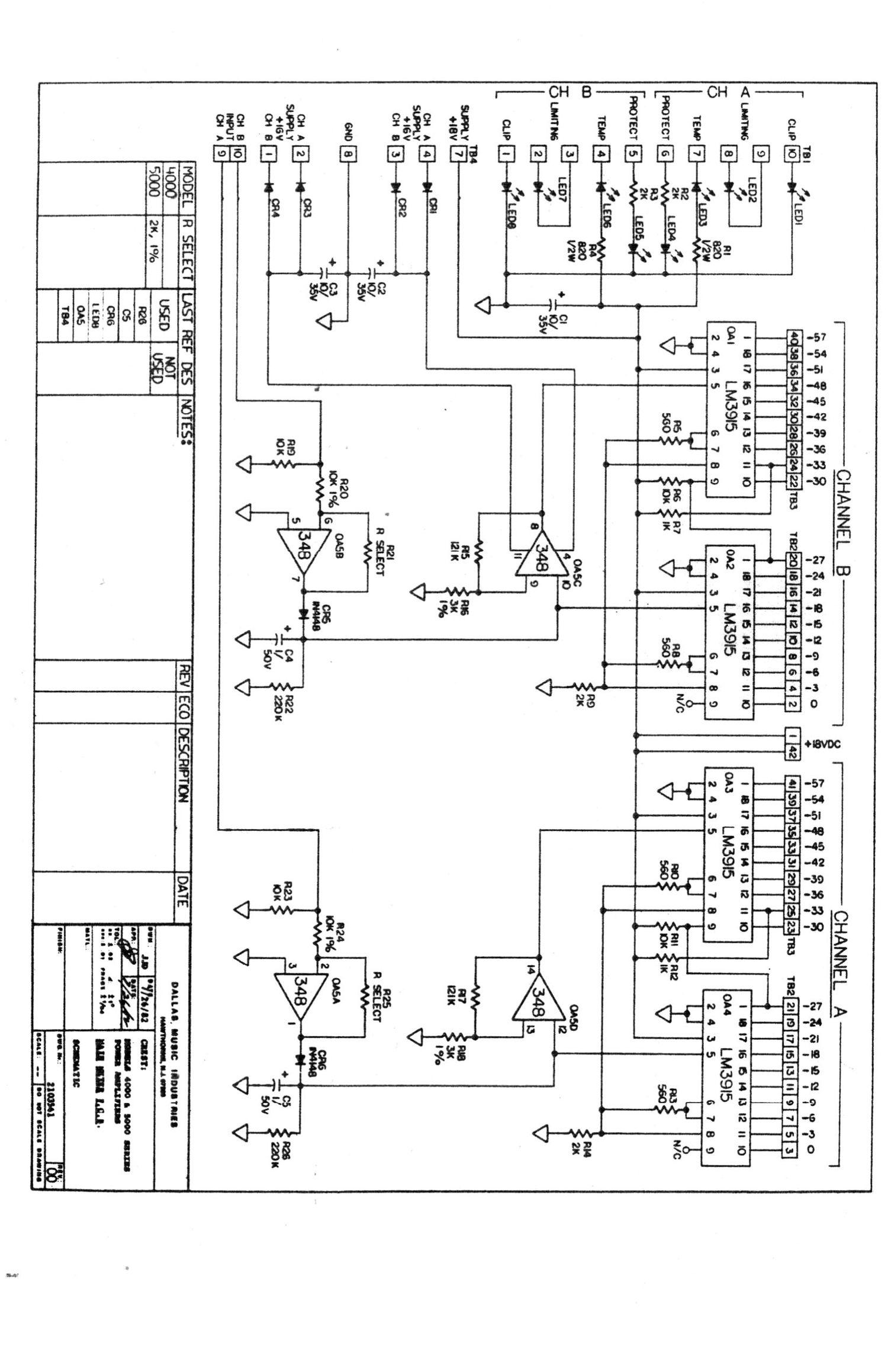 crest audio 5000 schematic rh audioservicemanuals com Beats Schematic Diagram IC Schematic Diagram