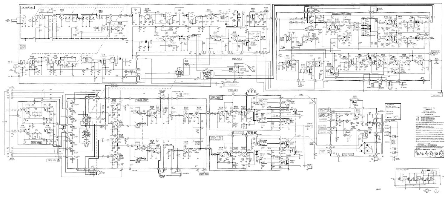 Ar 15 Schematic Diagram Wire Center Index 39 Amplifier Circuit Seekiccom Heathkit Rh Audioservicemanuals Com Printable Exploded