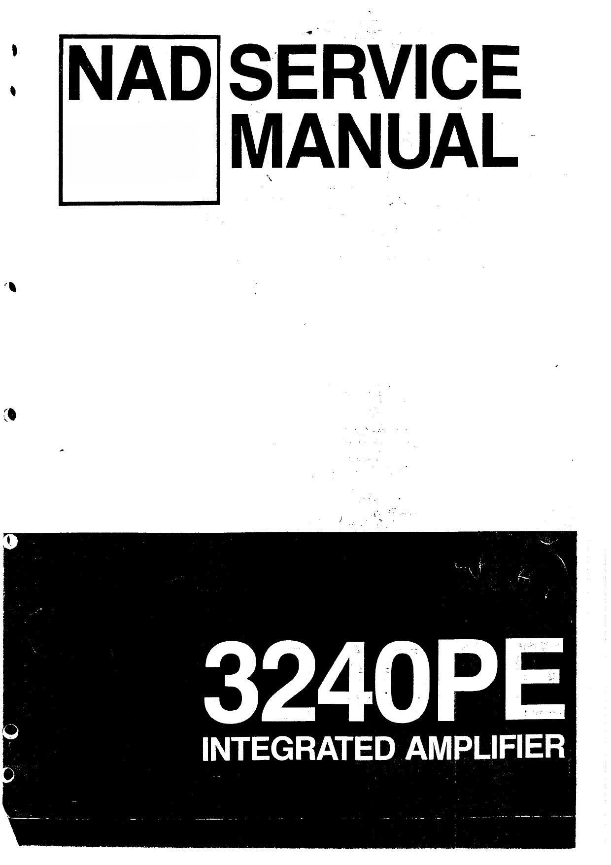 nad 3240 pe service manual rh audioservicemanuals com