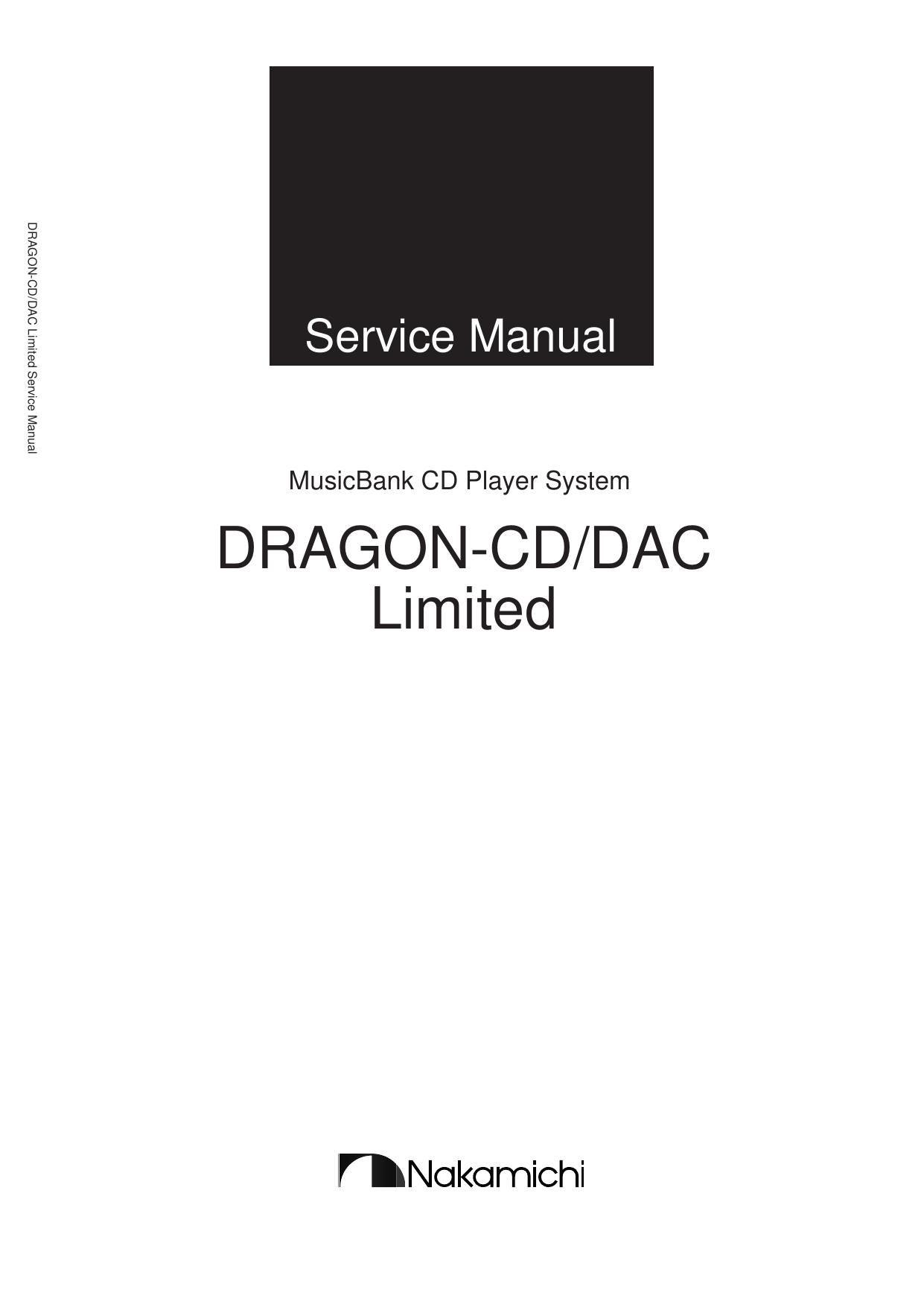 nakamichi dragon cd limited service manual rh audioservicemanuals com nakamichi dragon cassette deck service manual nakamichi dragon owners manual