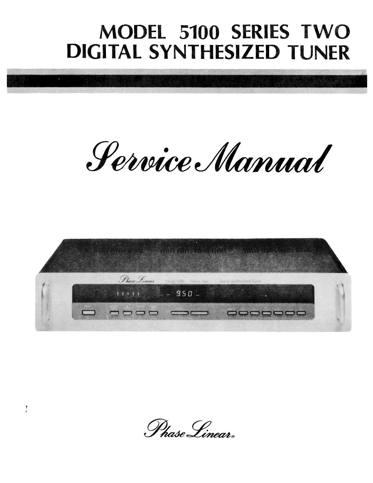 phase linear 5100 s2 service manual rh audioservicemanuals com phase linear 700 service manual phase linear 400 service manual