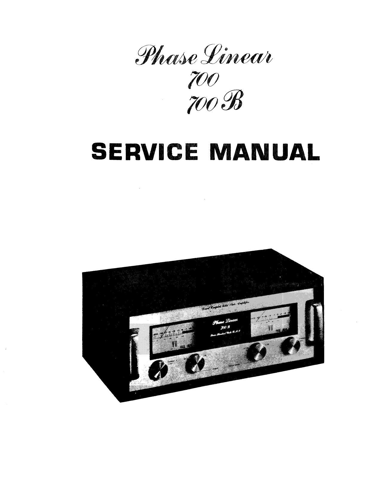 phase linear 700 700b service manual rh audioservicemanuals com phase linear 200 service manual phase linear 700 service manual