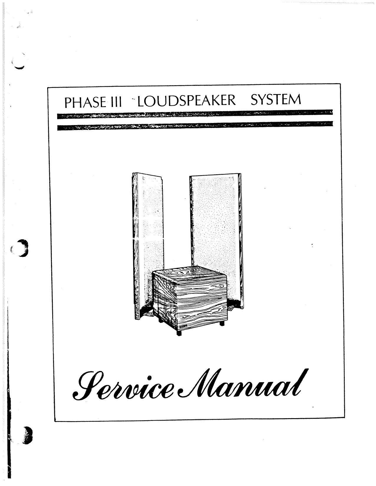phase linear andromeda iii service manual rh audioservicemanuals com phase linear 3000 service manual phase linear 200 service manual