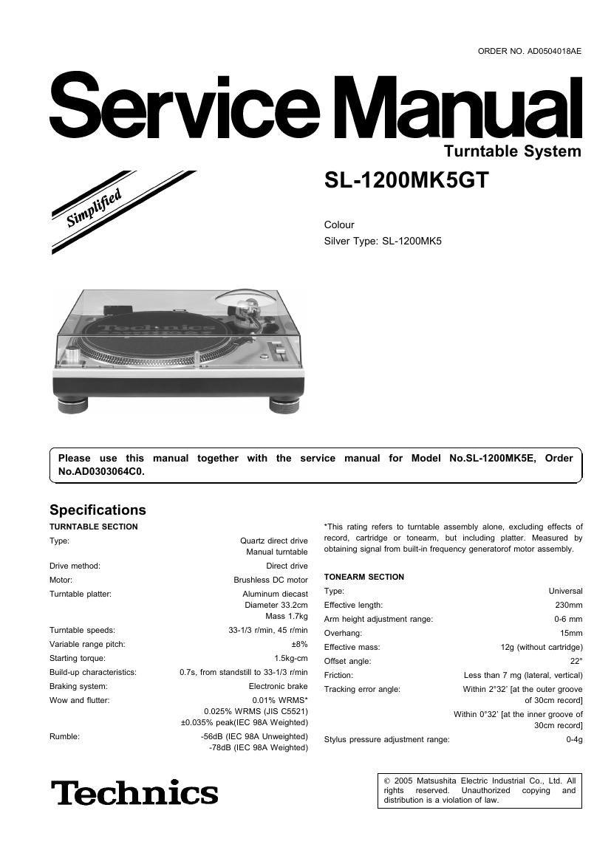 technics sl 1200 mk 5 gt service manual rh audioservicemanuals com Numark Mixer Numark Mixer