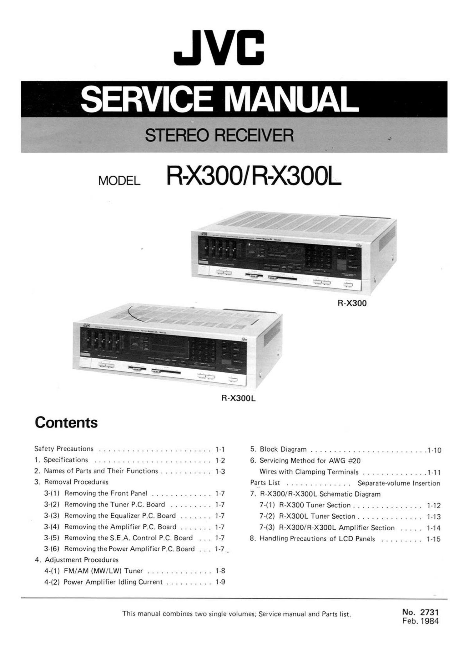 JVC RC-X510 SERVICE MANUAL Pdf Download | ManualsLib