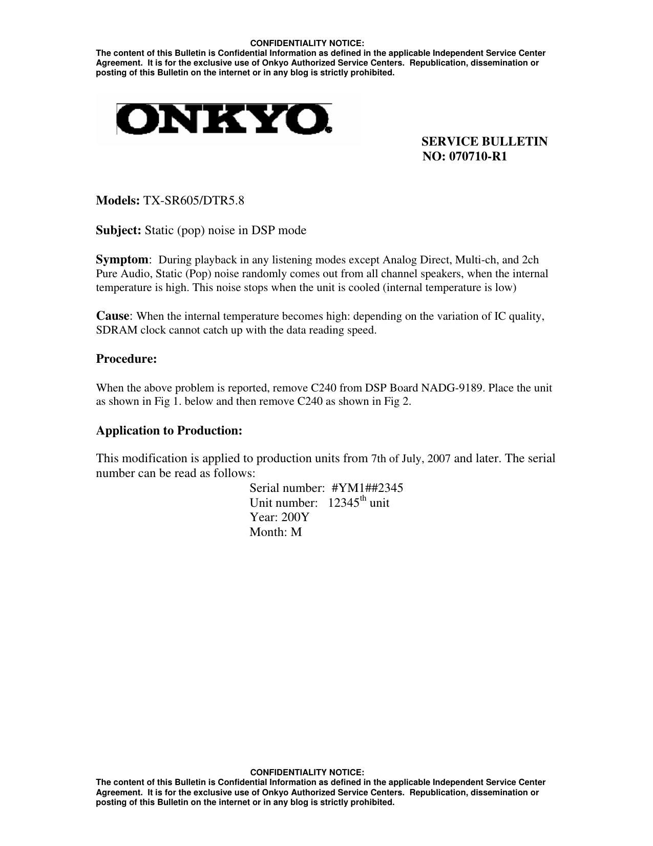 ... Array - onkyo dtr 5 8 service manual rh audioservicemanuals ...