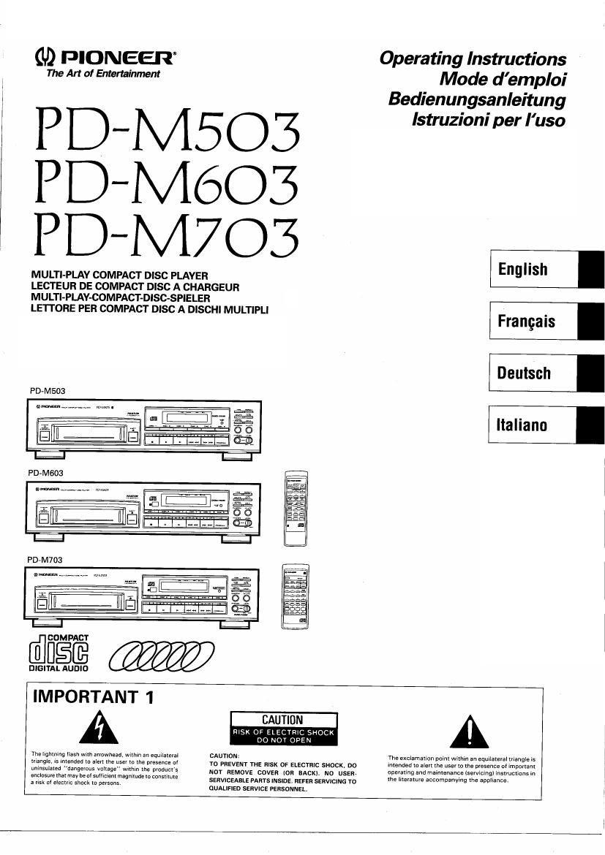 PIONEER CLDD750 - Service Manual Immediate Download